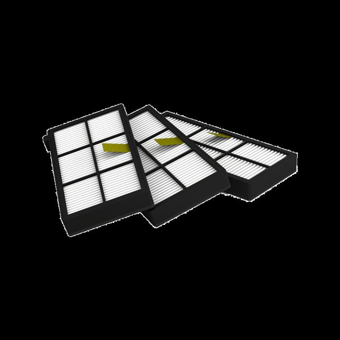 Sada třech filtrů Aero Force pro robotický vysavač Roomba